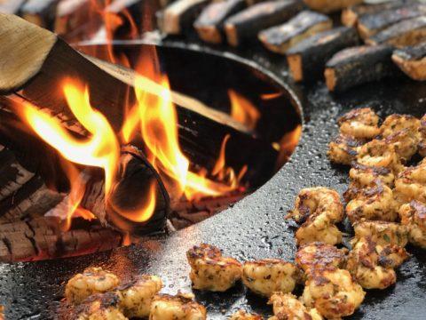 SOS BBQ Feuer und Flamme