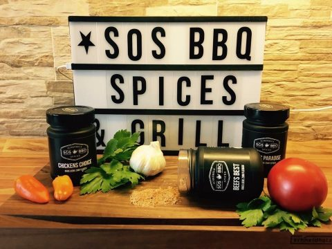 SOS BBQ Spices Grill